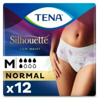 Tena Lady Silhouette Slip Absorbant Blanc Normal Médium Paquet/12 à Sarrebourg