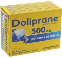DOLIPRANE 500 mg Poudre pour solution buvable en sachet-dose B/12 à Sarrebourg
