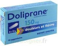 DOLIPRANE 150 mg Suppositoires 2Plq/5 (10) à Sarrebourg