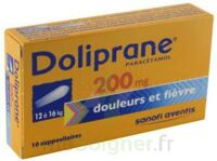 DOLIPRANE 200 mg Suppositoires 2Plq/5 (10) à Sarrebourg