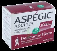 ASPEGIC ADULTES 1000 mg, poudre pour solution buvable en sachet-dose 30 à Sarrebourg