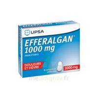 Efferalgan 1000 mg Comprimés pelliculés Plq/8 à Sarrebourg