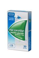 NICORETTE 2 mg Gom à mâcher médic sans sucre menthe glaciale Plq/30gom à Sarrebourg