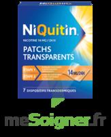 NIQUITIN 14 mg/24 heures, dispositif transdermique Sach/7 à Sarrebourg