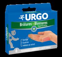 URGO BRULURES-BLESSURES PETIT FORMAT x 6 à Sarrebourg