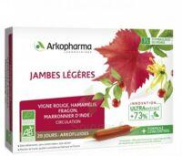 Arkofluide Bio Ultraextract Solution buvable jambes légères 20 Ampoules/10ml à Sarrebourg