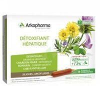 Arkofluide Bio Ultraextract Solution buvable détoxifiant hépatique 20 Ampoules/10ml à Sarrebourg