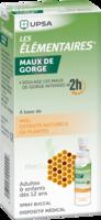 LES ELEMENTAIRES Solution buccale maux de gorge adulte 30ml à Sarrebourg