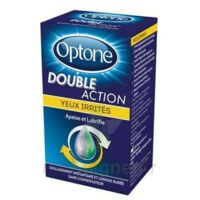 Optone Double Action Solution Oculaire Yeux Irrités Fl/10ml à Sarrebourg