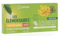 Les Elémentaires Sans Sucre Pastilles Maux De Gorge Aigus Menthe B/20 à Sarrebourg