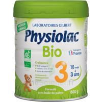 Physiolac Bio Lait 3éme Age 800g à Sarrebourg