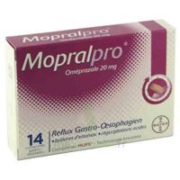 MOPRALPRO 20 mg Cpr gastro-rés Film/14 à Sarrebourg