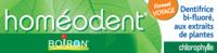 Boiron Homéodent Soin Complet Dents et Gencives Pâte Dentifrice Chlorophylle Format Voyage T/25ml à Sarrebourg