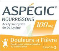 ASPEGIC NOURRISSONS 100 mg, poudre pour solution buvable en sachet-dose à Sarrebourg