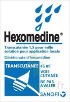 HEXOMEDINE TRANSCUTANEE 1,5 POUR MILLE, solution pour application locale à Sarrebourg