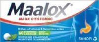 MAALOX HYDROXYDE D'ALUMINIUM/HYDROXYDE DE MAGNESIUM 400 mg/400 mg Cpr à croquer maux d'estomac Plq/60 à Sarrebourg