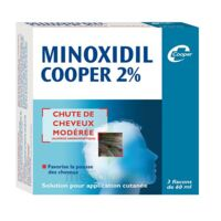 MINOXIDIL COOPER 2 %, solution pour application cutanée en flacon