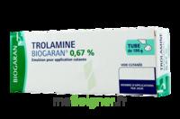 TROLAMINE BIOGARAN 0,67 % Emuls appl cut T/186g à Sarrebourg