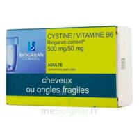 CYSTINE/VITAMINE B6 BIOGARAN CONSEIL 500 mg/50 mg Cpr pell Plq/120