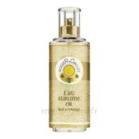 ROGER GALLET Bois d'Orange Eau Sublime Or à Sarrebourg