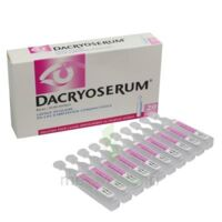 DACRYOSERUM Solution pour lavage ophtalmique en récipient unidose 20Unidoses/5ml à Sarrebourg