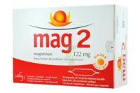 MAG 2 122 mg S buv en ampoule sans sucre édulcoré à la saccharine sodique 30Amp/10ml à Sarrebourg