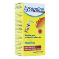 LYSOPAINE Maux Gorge spray AMBROXOL.MENTHE 20ML à Sarrebourg
