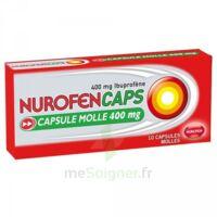 Nurofencaps 400 Mg Caps Molle Plq/10 à Sarrebourg