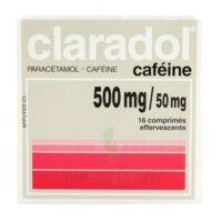 Claradol Cafeine 500 Mg/50 Mg, Comprimé Effervescent à Sarrebourg