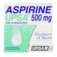 ASPIRINE UPSA 500 mg, comprimé effervescent à Sarrebourg