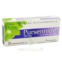 PURSENNIDE 20 mg, comprimé enrobé à Sarrebourg
