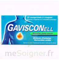 Gavisconell Coprimés à Croquer Sans Sucre Menthe édulcoré à L'aspartam Et à L'acésulfame Potas Plq/24 à Sarrebourg