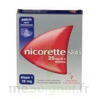 Nicoretteskin 25 mg/16 h Dispositif transdermique B/7 à Sarrebourg