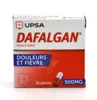 DAFALGAN 500 mg Gélules 2plq/8 (16) à Sarrebourg