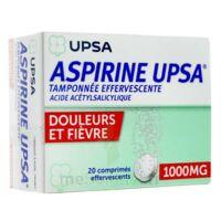 ASPIRINE UPSA TAMPONNEE EFFERVESCENTE 1000 mg, comprimé effervescent à Sarrebourg