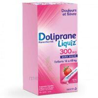 Dolipraneliquiz 300 mg Suspension buvable en sachet sans sucre édulcorée au maltitol liquide et au sorbitol B/12 à Sarrebourg