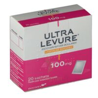 Ultra-levure 100 Mg Poudre Pour Suspension Buvable En Sachet B/20 à Sarrebourg