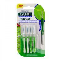 Gum Trav - Ler, 1,1 Mm, Manche Vert , Blister 4 à Sarrebourg
