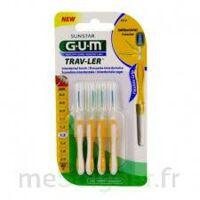 Gum Trav - Ler, 1,3 Mm, Manche Jaune , Blister 4 à Sarrebourg