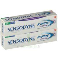 Sensodyne Rapide Pâte dentifrice dents sensibles 2*75ml à Sarrebourg