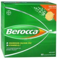 Berocca Comprimés effervescents sans sucre T/60 à Sarrebourg
