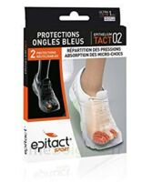 EPITACT SPORT PROTECTIONS ONGLES BLEUS EPITHELIUMTACT 02, Xlarge à Sarrebourg