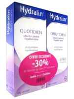 Hydralin Quotidien Gel lavant usage intime 2*400ml à Sarrebourg