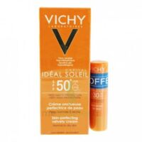 Vichy Idéal Soleil SPF50 Crème onctueuse visage 50ml+Stick SPF30
