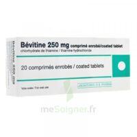 BEVITINE 250 mg Cpr enr Plq/20 à Sarrebourg