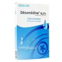 DESOMEDINE 0,1 % Collyre sol 10Fl/0,6ml à Sarrebourg
