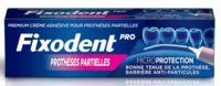 Fixodent Pro Crème Adhésive Pour Prothèse Partielle T/40g à Sarrebourg