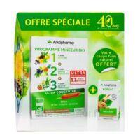 Arkofluides Programme Minceur Bio 30 ampoules/10ml + Arkogélules Konjac B/45 Offre spéciale 40 ans de santé naturelle à Sarrebourg