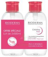 Crealine H2o Solution Micellaire Nettoyante Apaisante Sans Parfum 2fl Pompe Inversée/500ml à Sarrebourg
