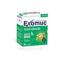 Exomuc 200 Mg, Granulés Pour Usage Oral En Sachet 15 Sachets/2g à Sarrebourg
